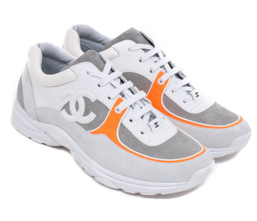 SS18 Vibrant Orange Trainers CHANEL