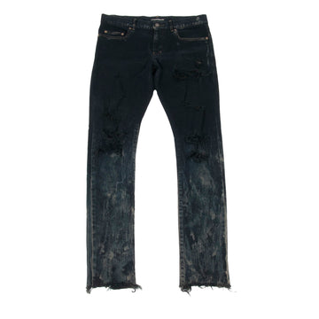 Stained Distressed Denim SAINT LAURENT