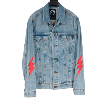 Starboy Denim Jacket (Lightwash Indigo) The Weeknd