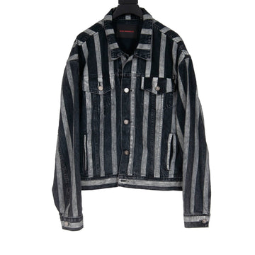 Striped Denim Jacket Bare Knuckles