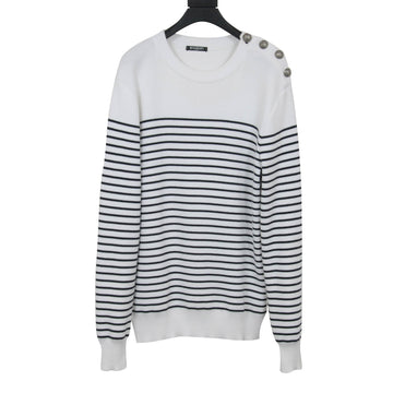 Striped Sweatshirt BALMAIN