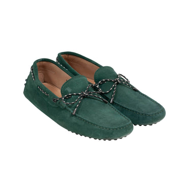 Suede Loafers (Green) Tod's