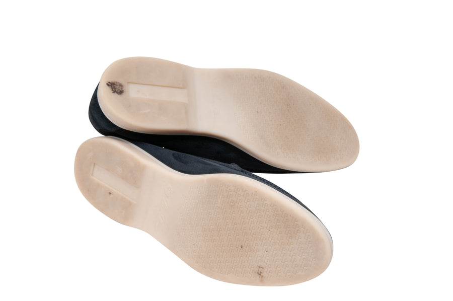 Summer Walk Slip-Ons (Navy) Loro Piana