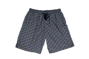 Swim Trunks (Navy Blue Small Turtles) Vilebrequin