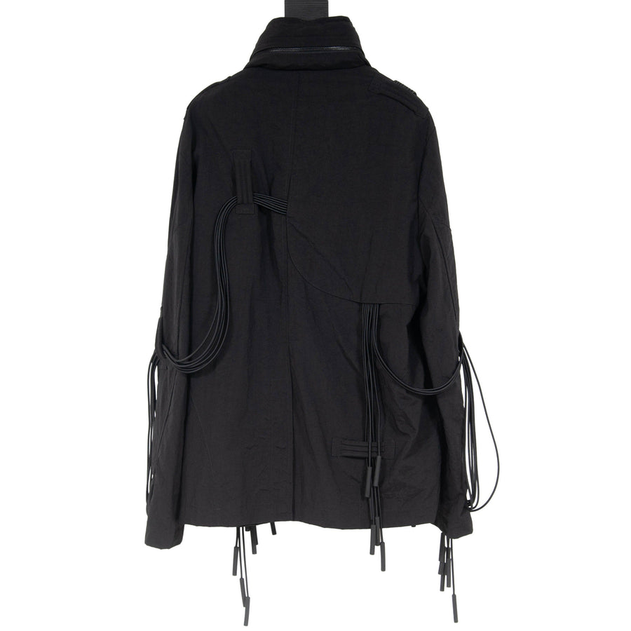 Tassel-Trim Hooded Shell Flight Jacket A-COLD-WALL*
