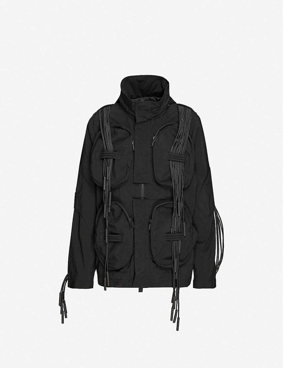 Tassel-Trim Hooded Shell Jacket A-COLD-WALL*