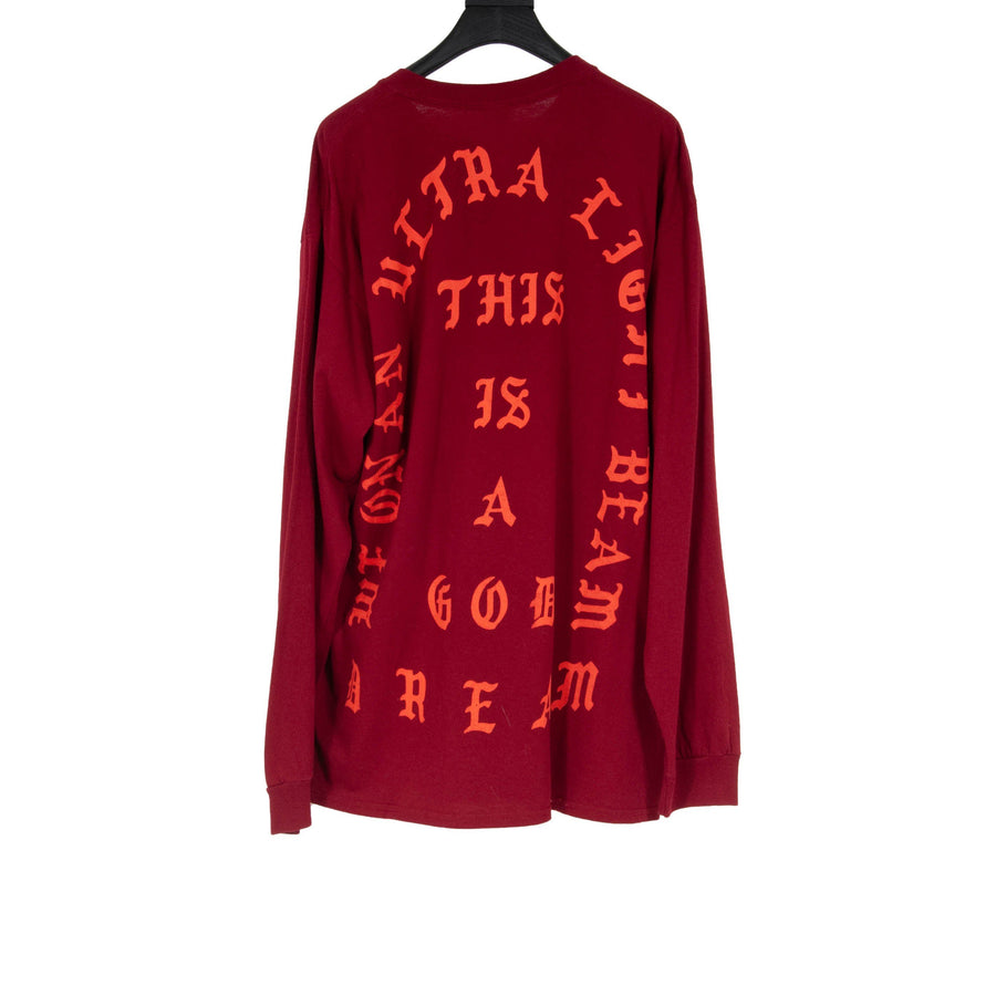 TLOP Long Sleeve Shirt (Red) Kanye West