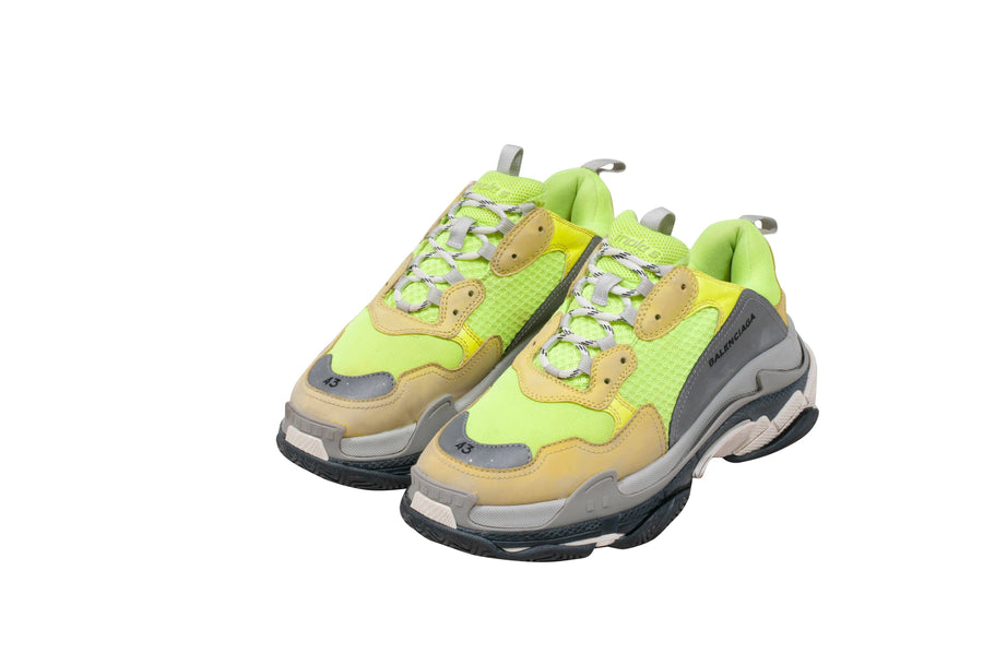 Triple S (Neon Yellow) BALENCIAGA
