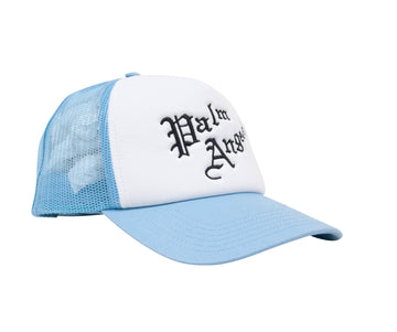 Trucker Hat (Blue) Palm Angels