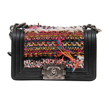 Tweed Boy Bag CHANEL