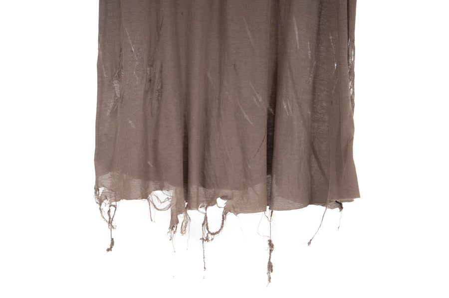 Unstable Distressed Tee (Darkdust) RICK OWENS