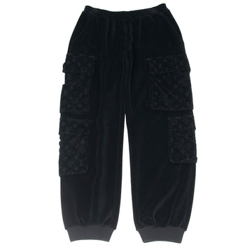 Velour Monogram Cargo Trousers LOUIS VUITTON