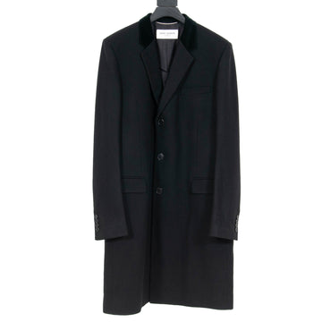 Velvet Collar Chesterfield Coat SAINT LAURENT