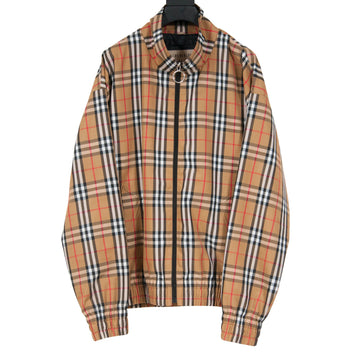 Vintage Harrington Peckham Signature Check Windbreaker Jacket Burberry