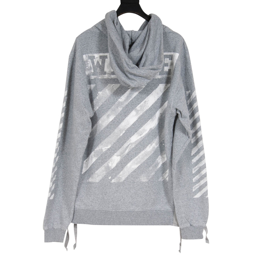 Waves Hoodie (Grey) OFF WHITE