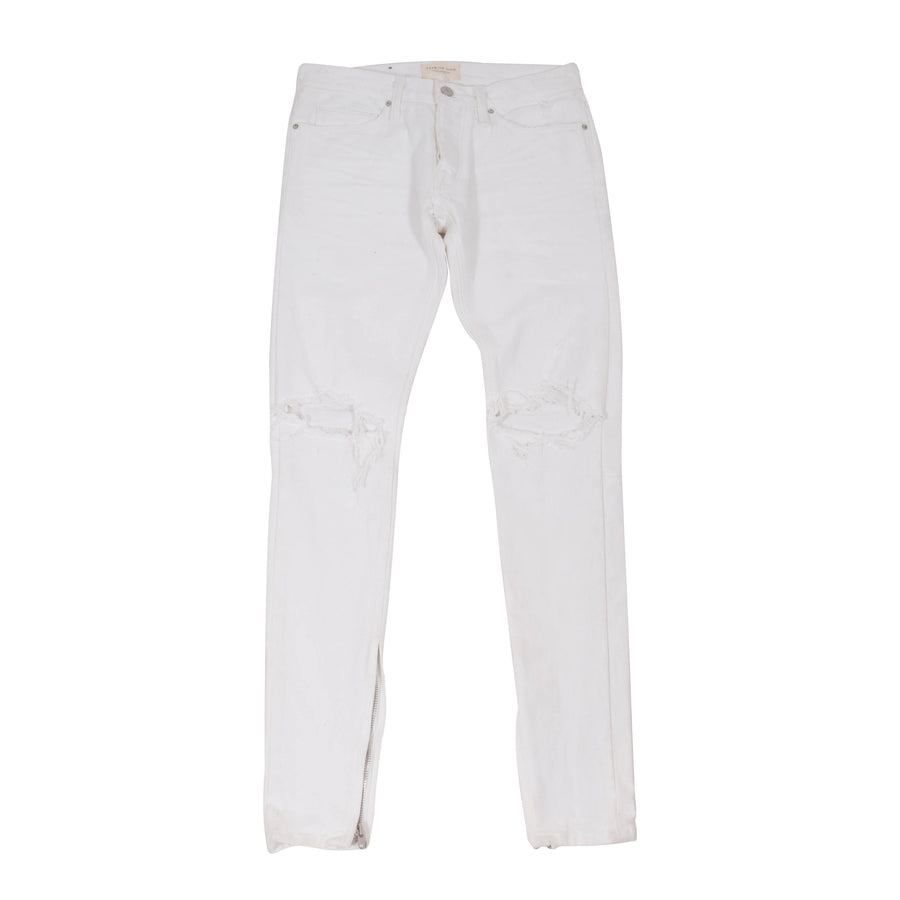 White Selvedge Denim Jeans FEAR OF GOD