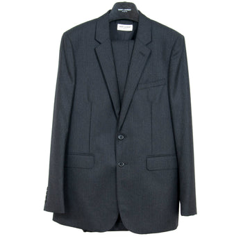 Wool Pinstriped Suit SAINT LAURENT