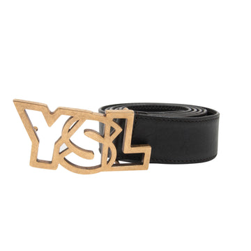 YSL Logo Belt Yves Saint Laurent