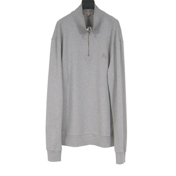 Zipped Crewneck (Gray) Burberry