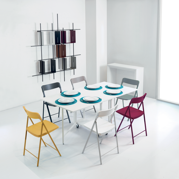 Ensemble ~ console/dining table + chairs - SPACEMAN