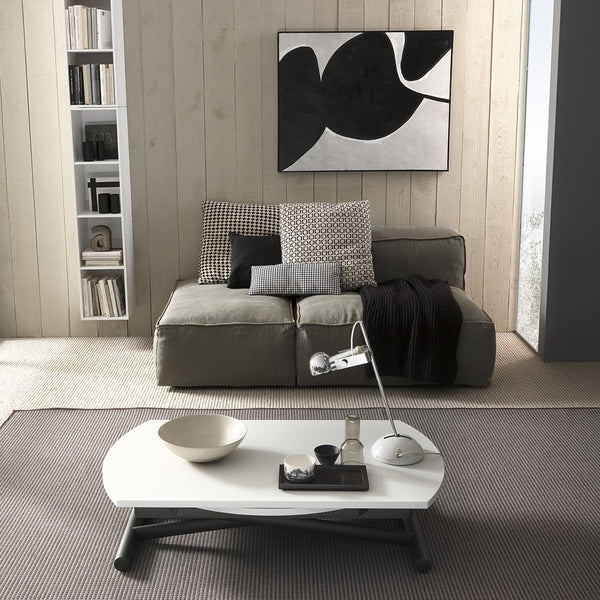 Rondo ~ round coffee table/dining table