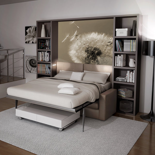 Slumbersofa Classic ~ sofa + wall bed - SPACEMAN