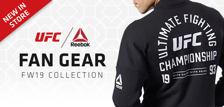 New In Store UFC Fan Gear Collection