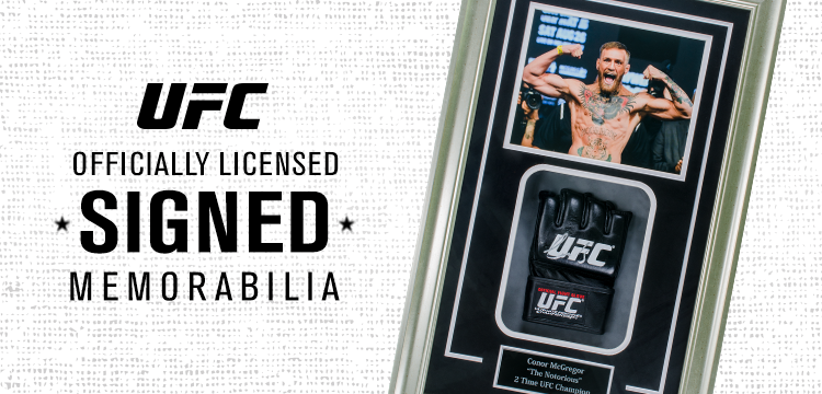 UFC Officially Licensed Signed Memorabilia