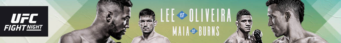 UFC Fight Night Lee vs Oliveira