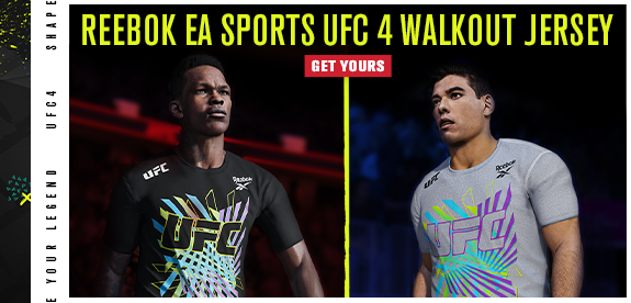 Reebok EA Sports UFC 4 walkout jersey