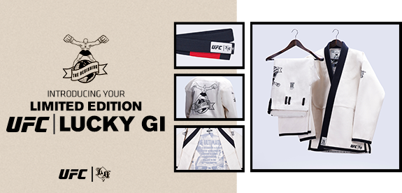 Introducing your limited edition UFC Lucky Gi