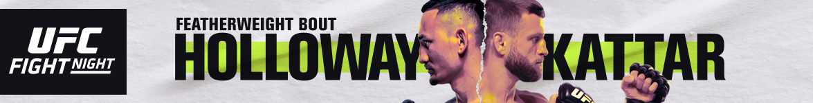 UFC Fight Night Holloway vs. Kattar