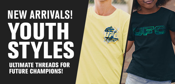 New arrivals! Youth styles ultimate threads for future champions!