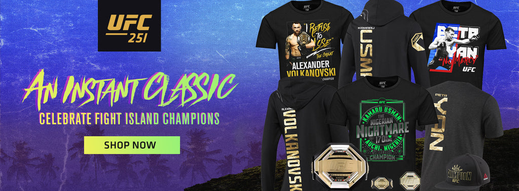 An instant classic celebrate fight island champions shop now