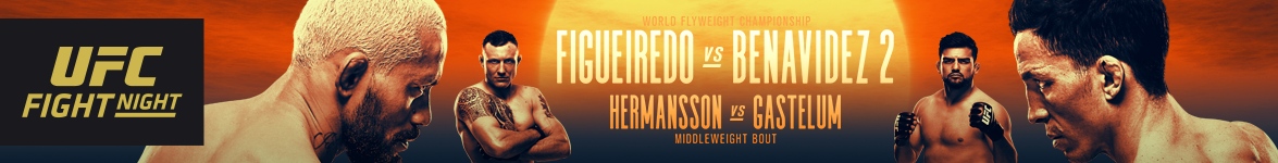 UFC Fight Night World Flyweight Championship Figueiredo vs. Benavidez 2