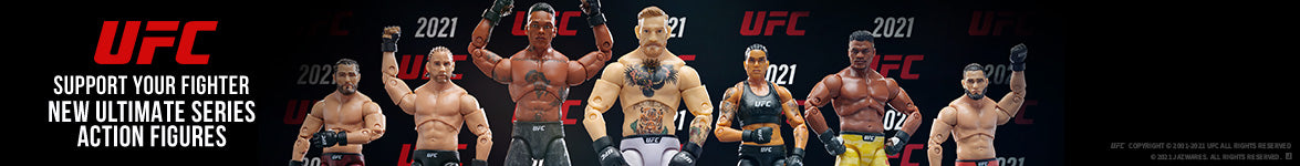 UFC Support your fighter new ultimate series action figures