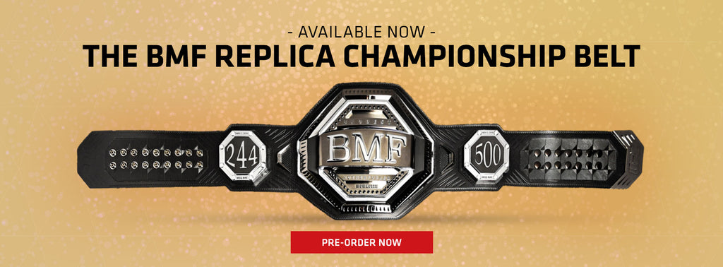 Available Now The BMF Replica Championship Belt Pre-Order Now