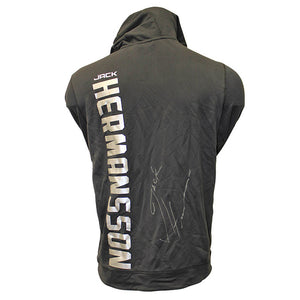 Jack Hermansson Autographed Event Worn Hoodie from UFC Fight Night: Figueiredo vs. Benavidez 2  - Yas Island, Abu Dhabi