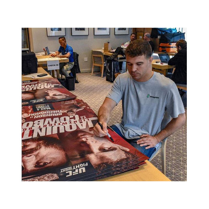 UFC Fight Night Ottawa Autographed Poster
