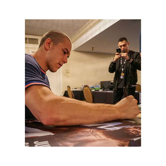 UFC Fight Night San Antonio Autographed Poster