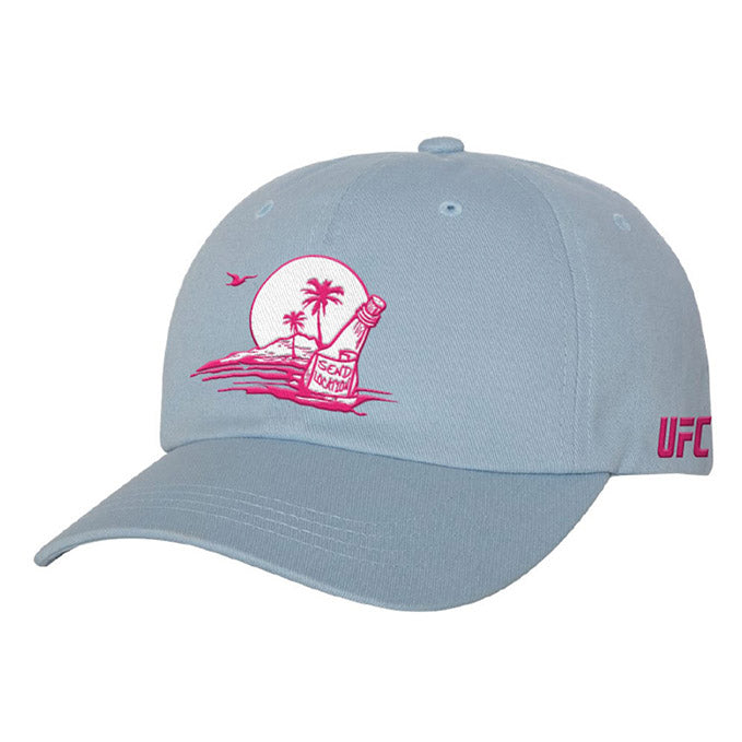 Women's UFC Fight Island Location Unstructured Adjustable Cap
