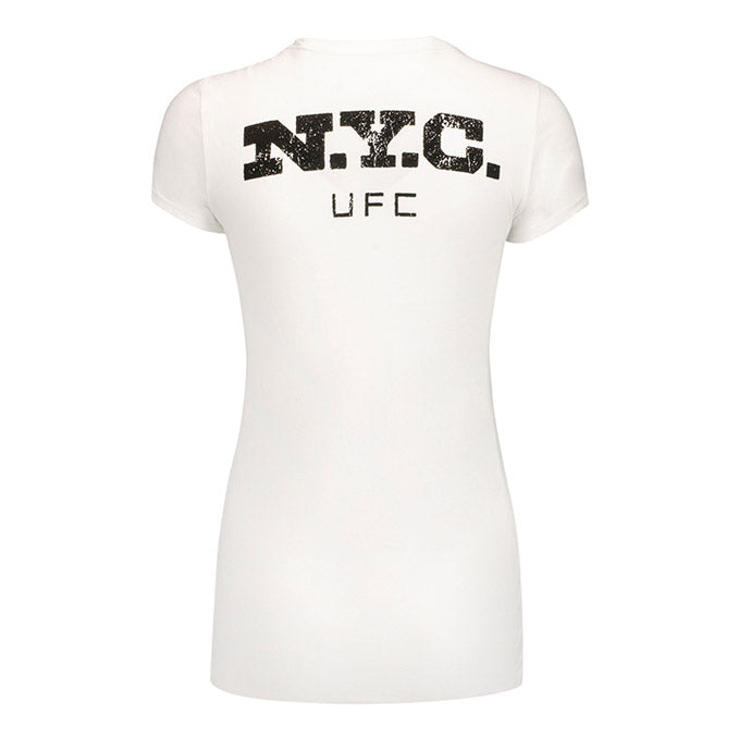 Women's UFC Honor and Pride T-Shirt-White