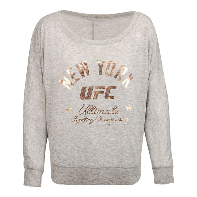 Women's UFC NYC Long Sleeve T-Shirt