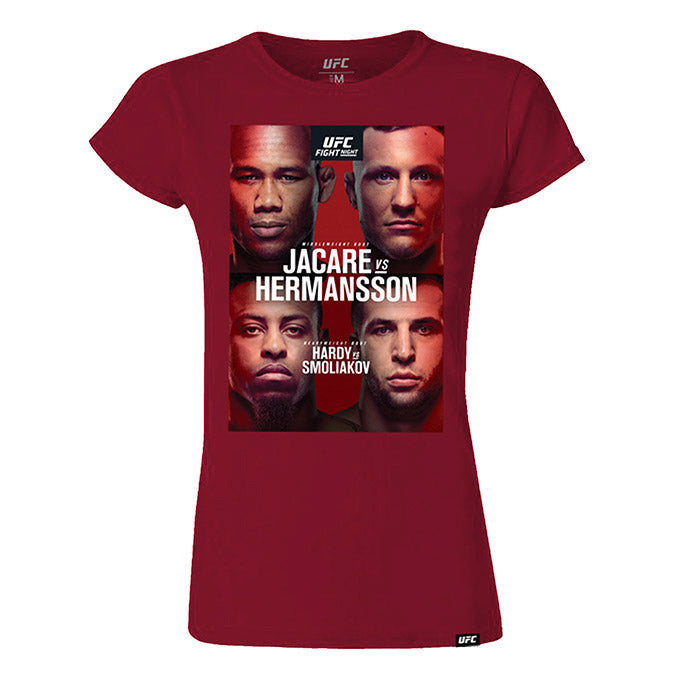 Women's UFC Fight Night Fort Lauderdale Jacaré vs Hermansson Event T-Shirt