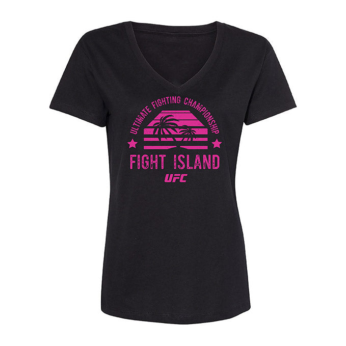 Women's UFC Fight Island Shades T-Shirt - Black