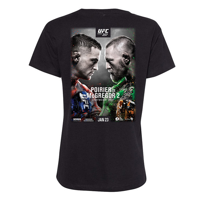 Women's UFC 257 Event T-Shirt - Black