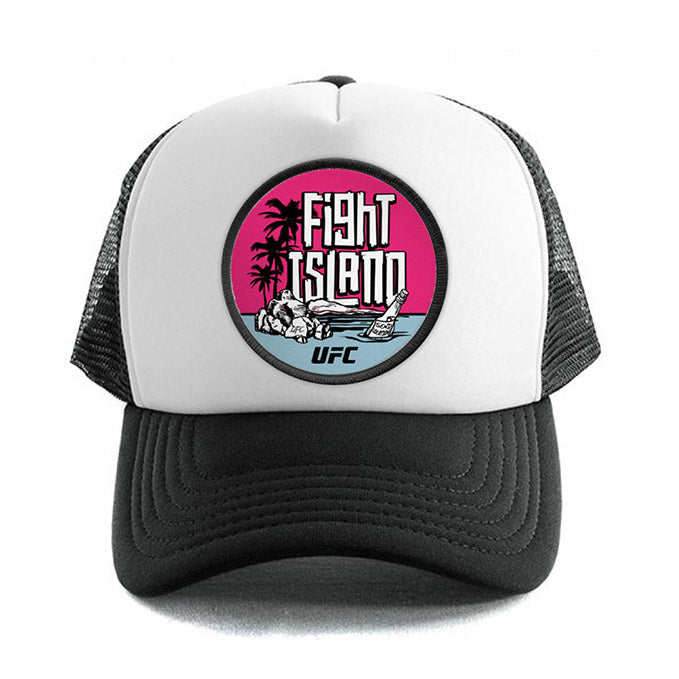 UFC Fight Island Location Trucker Cap