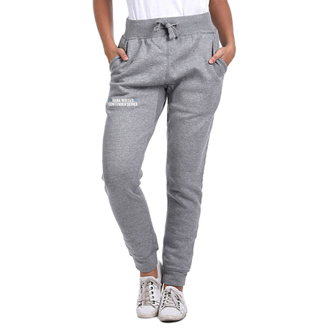 DWCS Logo Fleece Jogger - Heather Grey