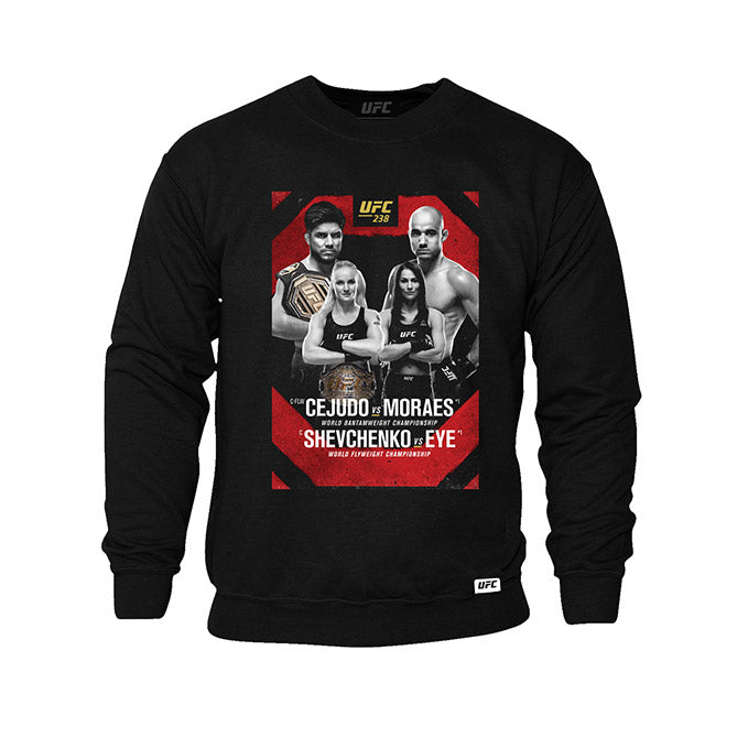 Men's UFC 238 Event Sweatshirt - Black