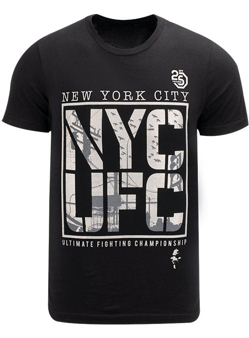 UFC New York 25th Anniversary Inner City T-Shirt